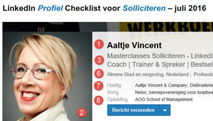 Dé LinkedIn Profiel Checklist voor Solliciteren