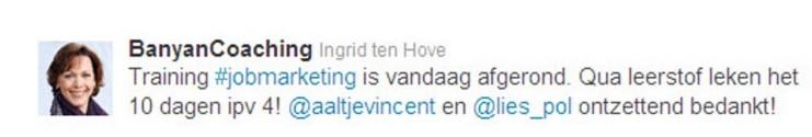 Ingrid ten Hove BanyanCoaching