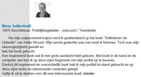 boek soll via linkedIn aanbev 1
