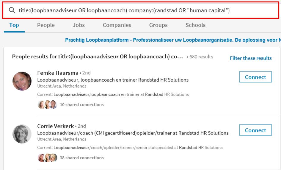 Oók nieuw op LinkedIn: zoeken, netwerk opbouw, bedrijven ...