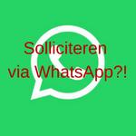 Werk veroveren met WhatsApp? Ja, ook met WhatsApp :)!